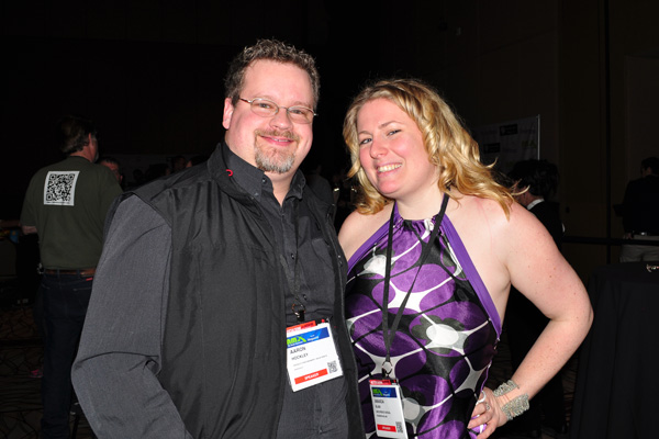 photo by linda sherman NMX Aaron Hockley w Amanda Blain