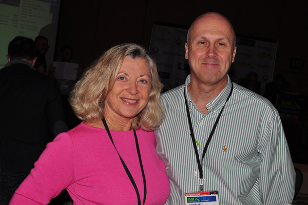 Charlie Poznek and Linda Sherman NMX