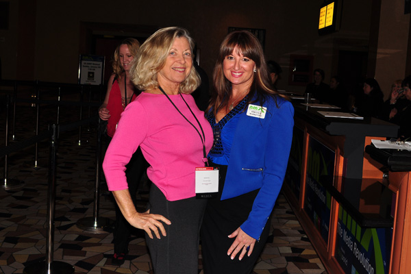 Deb Cole with Linda Sherman NMX 2014