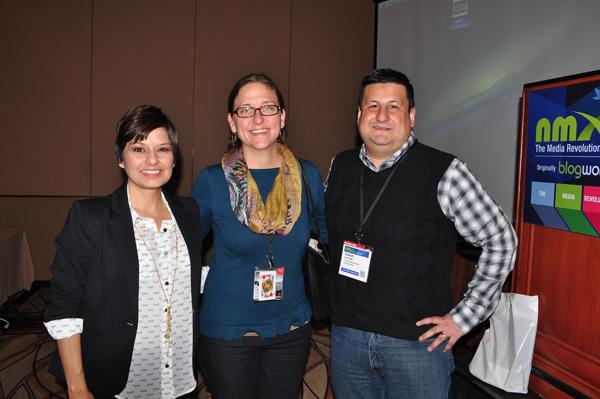 Cynthia Sanchez with Julie  Fry and Cynthia's husband