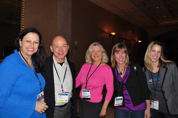 Gina Carr, Terry Brock, Linda Sherman, Andrea Vahl and Vanessa Bogehold NMX