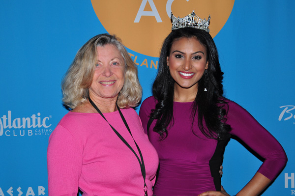 Linda Sherman with Miss America from NYC