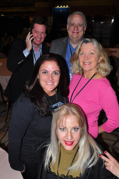 Lori Moreno, Kristi Trimmer, Linda Sherman, Warren Whitlock and Richard Krawczyk NMX