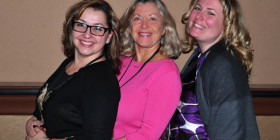 Lynette Young Linda Sherman and Amanda Blain NMX 2014