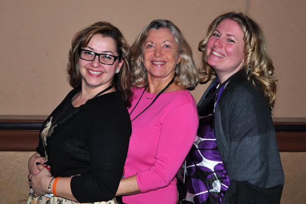 Lynette Young Linda Sherman and Amanda Blain NMX 2014