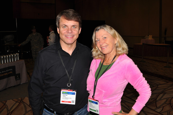 Martin Jones and Linda Sherman NMX 2014