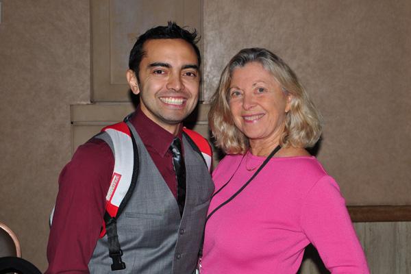 Pat Flynn with Linda Sherman NMX