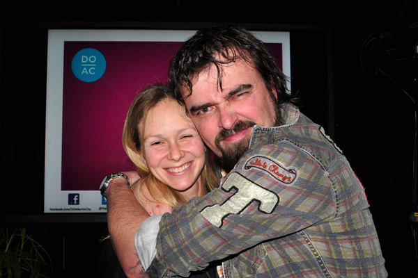 Scott Stratten and Alison Kramer nmx photo by Linda Sherman