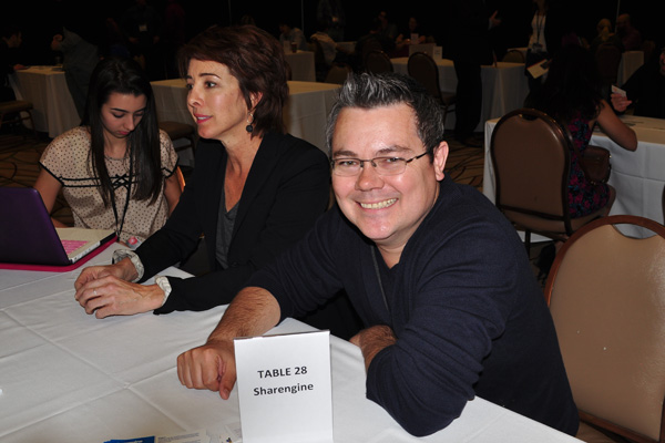 photo by linda sherman NMX speed dating shareengine founder