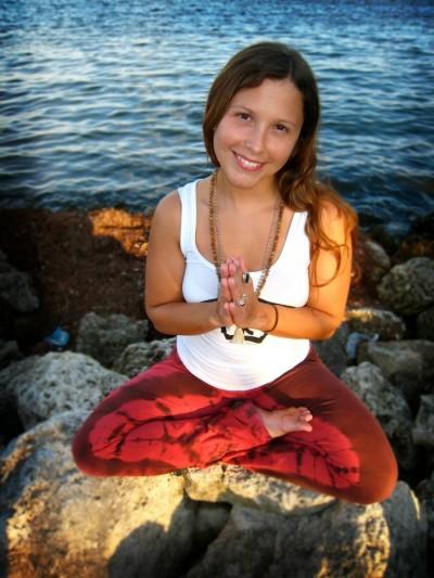 Karri Elizabeth Cole yoga pose WCMIA