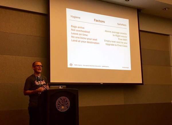 Dallin Harris, principal Skyhook Interactive WCLAX  Customer service presentation