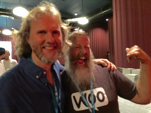John Niernberger and Will Brubaker at WCMIA after party